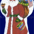 Rare Odrzywolek Christmas Doll Counted Cross Stitch Kit Santa with Toys