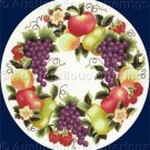 Rare LeClair Ripe Fruit Wreath Crewel Embroidery Kit Orchard Harvest