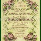Rare Stoney Creek Wedding Sampler Cross Stitch Kit Marital Blessing Wedding Record