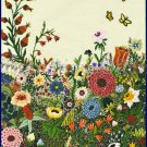 Rare Wildflower Fantasy Crewel Embroidery Kit Abundant Spring Flower Garden