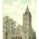 CENTRAL M E CHURCH SOUTH ASHEVILLE NC NORTH CAROLINA Postcard
