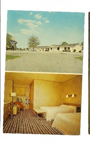 PALOMINO MOTEL Highway 70 MEMPHIS TN TENNESSEE 60S postcard