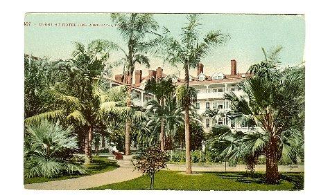 COURT AT HOTEL DEL CORONADO CA CALIFORNIA EARLY