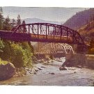 STREAMLINER WESTERN PACIFIC RAILROAD FEATHER RIVER CA CALIFORNIA POSTCARD