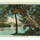 Des Moines IA Iowa Sixth Street Bridge 1923 postcard