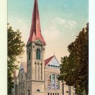 Central M E Church Stockton CA California early db Postcard