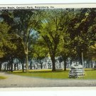 Pocahontas Basin Petersburg VA Virginia Central Park 1920 postcard