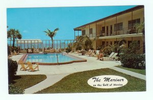 Mariner St Petersburg FL Florida Post Card Hotel on Gulf Mexico Belle Vista