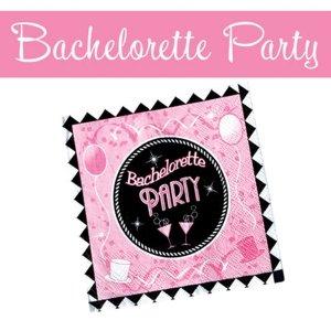 BACHELORETTE PARTY NAPKINS 10 PACK