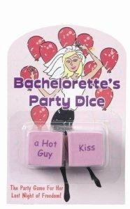BACHELORETTE PARTY DICE
