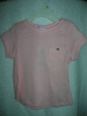 Tommy Hilfiger Infant Girls Kimberly Tee 18-24 Pink