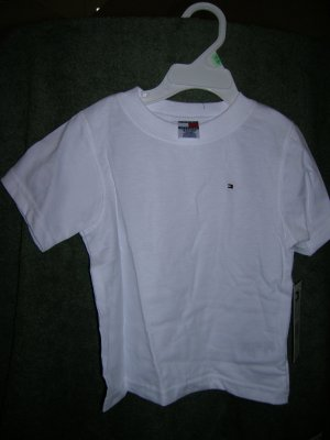 Tommy Hilfiger Boys S/S Nantucket Tee 12-24 White