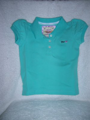 Puff sleeve polo/autumn sky/18-24 M