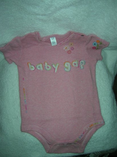 1969 Embroidered pink heath/6-12 M