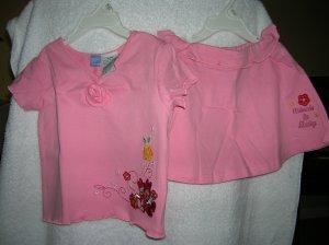 Pink Magic 24 Mo Disney Minnie & Daisy Skirt & Blouse Set
