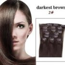 """20"""" Inch Clip In Hair Extension #2---105G"""