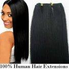 "14"" Inch Human Hair Weave/Weft #1B"