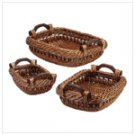 Willow Nesting Baskets 34621