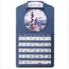 Lighthouse Wall Clock and Calander 33773