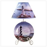 Cape Hatteras Plate Lamp 34831