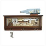 Fishing Themed Hall Shelf 35129