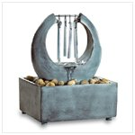 Zen Tabletop Fountain Chime 33539