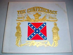 THE CONFEDERACY CIVIL WAR RECORD & BOOK Columbia DL-220