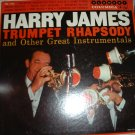 Harry James Trumpet Rhapsody And Other Great Instrumentals