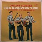 Kingston Trio College Concert / st1658