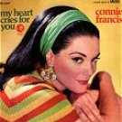 my heart cries for you connie francis / se 4487