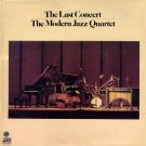 the modern jazz quartet the last concert / sd 2 909