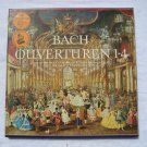J.S. BACH Ouverturen 1-4 TWO Vinyl Record Collector Set