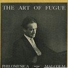 the art of fugue , bach, zrg 5421 & 5422