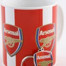 Arsenal Mug + Keyring Set