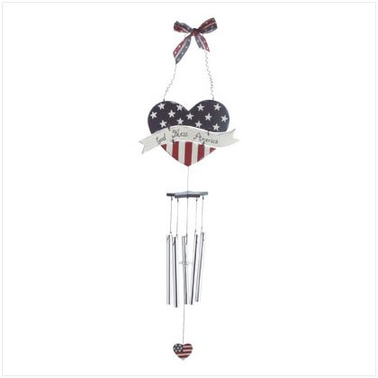 HEART OF AMERICA WINDCHIME	#34670