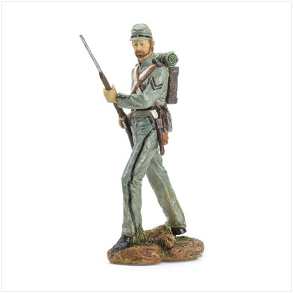 CONFEDERATE SOLDIER FIGURINE #37167