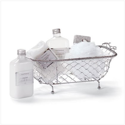 COCONUT MILK GIFT SET IN DECORATIVE BATH TUB #34186
