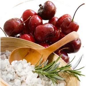 Cherry Scented Bath Salt Crystals - 2 lbs