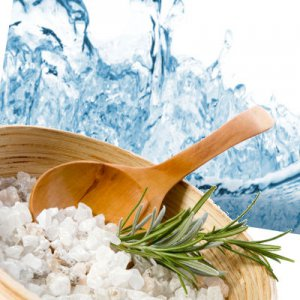 Rain Scented Bath Salt Crystals - 2 lbs