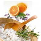 Orange Lavender Scented Bath Salt Crystals - 2 lbs