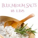 Bulk Fragrance Free Medium Sea Salt 18 lbs