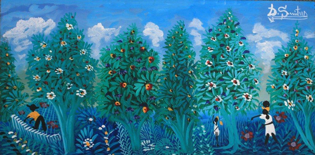 Latin American Paintings Naive Folk Latin American