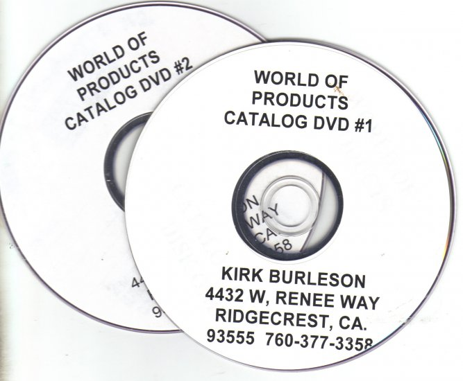 FREE DVD OF WORLD OF PRODUCTS CATALOG