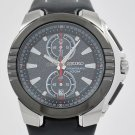 Seiko Sports Gray Dial Chrono WR100m Date Watch SNN147