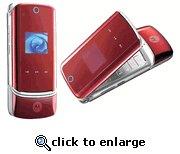 Motorola KRZR K1 Red Unlocked GSM Cell Phone