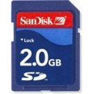 SanDisk 2GB SD Memory Card