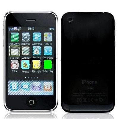 3.2 inch Touch Screen Bluetooth FM TV Mobile Phone ( 16G Style)