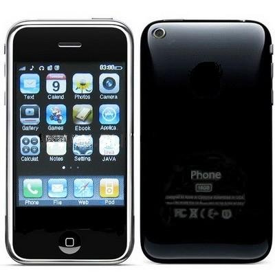 3.2 inch Touch Screen Bluetooth FM Mobile Phone, Built-in 4GB memory (Phone T618)