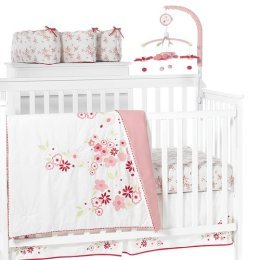 Sweet 6 piece crib bedding set