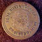 PAUL BUNYAN BRAINERD, MINN. SOUVENIR GOOD LUCK TOKEN